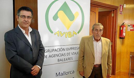 Abrines (izquierda) e Iriondo, en una imagen de archivo.