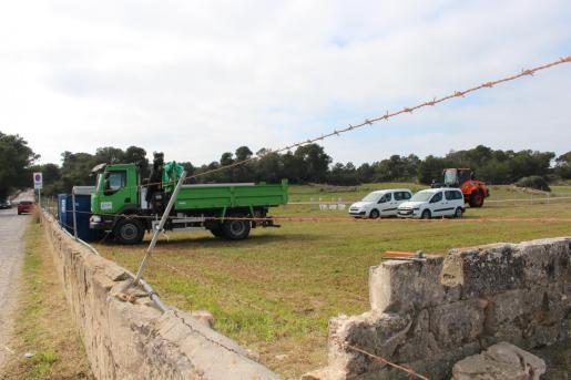 Esta misma semana se han iniciado las labores de acondicionamiento de los terrenos.