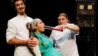 'Lady, Frank & Stein' el espectáculo de humor que será representado en Pollença