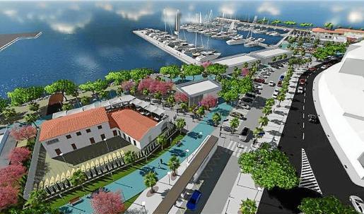 El proyecto Marina de Bosc i Vent fue seleccionado a través de un concurso público.