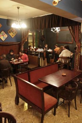 El Café Barroco cuenta con juegos de mesa clásicos y también originales.