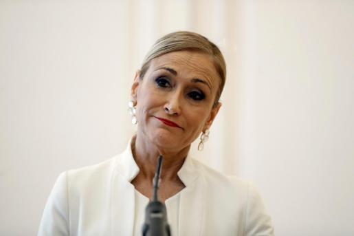 Fotografía de archivo de la expresidenta de la Comunidad de Madrid Cristina Cifuentes.