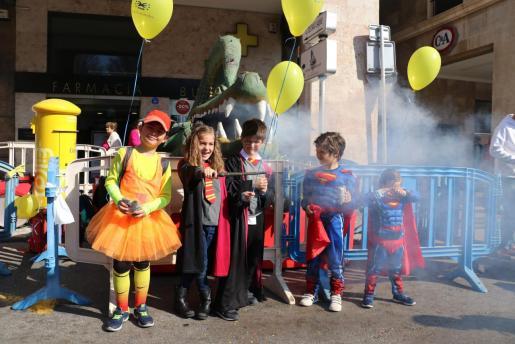 Los más pequeños han disfrutado este domingo de las actividades programadas en Palma con motivo de Sa Rueta