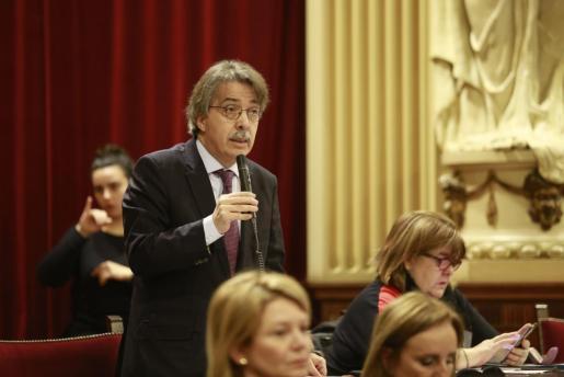 El líder de Ciudadanos en Baleares ha hablado claro sobre la posible irrupción de Bauzá en las filas naranjas.