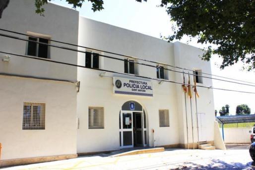 Cuartel de la Policía Local de Sant Antoni.