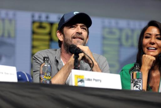 Luke Perry durante la Comi-Con para hablar de su participación en 'Riverdale'.