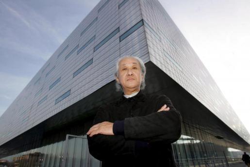 El arquitecto japonés Arata Isazaki.