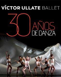 Cartel de la gira Víctor Ullate Ballet, 30 años de la danza