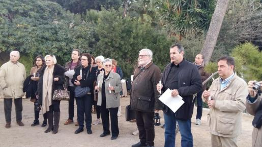 El acto se celebró este jueves en el Parc de la Quarentena.