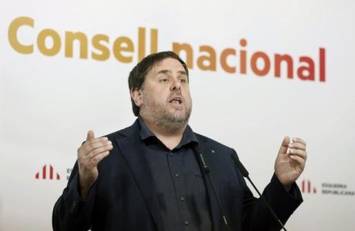 El líder de ERC Oriol Junqueras.