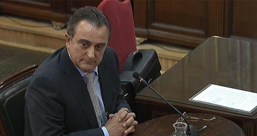 El exjefe de la Comisaría General de Información de los Mossos, Manuel Castellví.