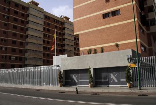 Imagen de archivo de la Comandancia de la Guardia Civil de Palma.