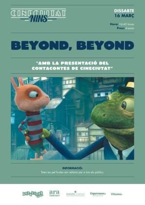 CineCiutat Nins regresa con la proyección de 'Beyond, beyond'.
