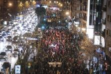 Manifestación del 8M en Palma