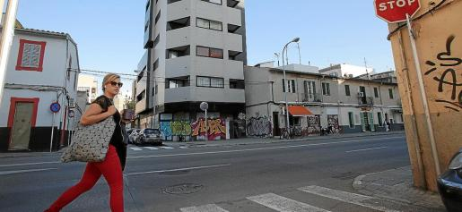 Imagen de archivo de un edificio ocupado en la calle Aragón de Palma.