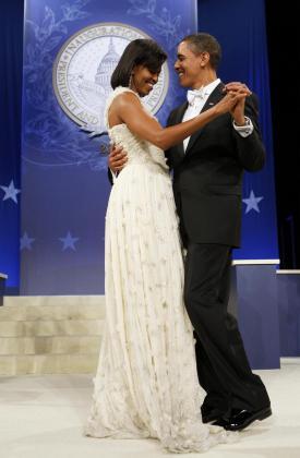 El vestido de noche de Michelle podrá verse en un museo.
