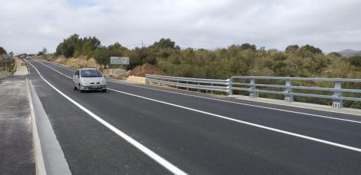 La circulación se ha reabierto este lunes por el puente de Artà, destruido por las inundaciones de octubre.