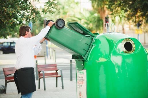 Palma se sitúa dentro de las diez capitales de provincias «más recicladoras» del Estado