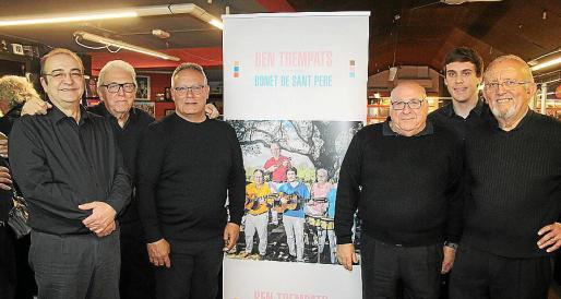 Macià Guasp, Josep Matas, Tolo Prats, Mariano Portas, Miguel Ángel Prats y Pep Martínez.