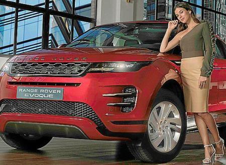 El nuevo Range Rover Evoque con Sandra Gago