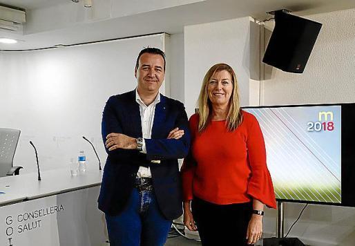 Francesc Dalmau y Patricia Gómez.