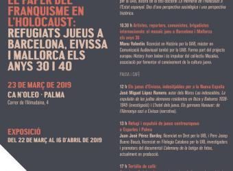 El Govern inaugura la exposición 'Judíos refugiados en las Islas Baleares' en Ca n'Oleo