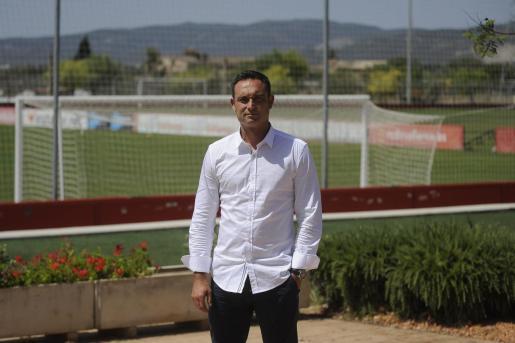 El director deportivo, en una imagen captada en Son Bibiloni.