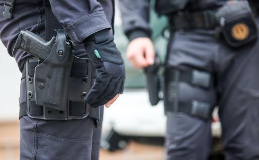 La Policía Nacional realizó la detención de los menores.