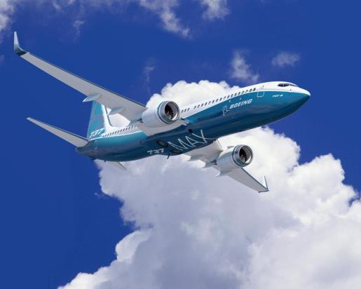 Imagen de un Boeing 737 MAX.