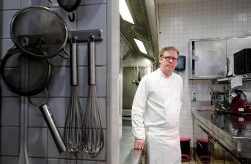 El propietario del restaurante Riff de Valencia, Bernd Knöller.