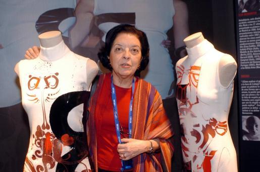 Leonor Pérez Pita, más conocida como Cuca Solana, directora durante 30 años de la pasarela de moda madrileña Cibeles.