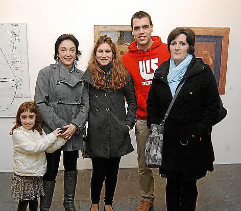 Maria y Carmen Rebollo, Laura Torres y David e Irene Ruiz.