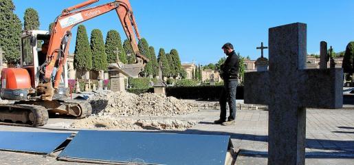 Durante el pasado mes de octubre se hizo el estudio de viabilidad en el cementerio de Son Coletes, que dio positivo.
