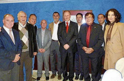Adolfo Orozco, Jaume Cladera, Vicenç Sastre, Llorenç Serra Ferrer, Celestí Alomar, Ramon Socías, Óscar Mayol, Miquel Bestard, Santiago Mayol y Loles Ripoll.