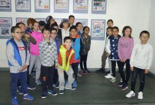 Alumnes del Col·legi Sant Salvador d'Artà varen viisitra Grup Serra i Endesa