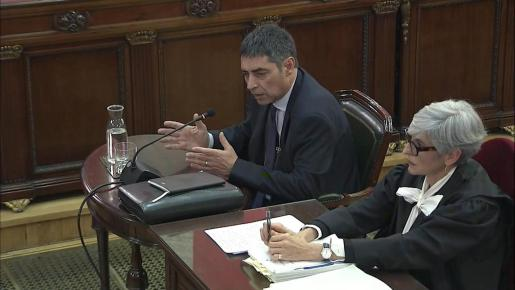 Josep Lluís Trapero, jefe de los Mossos d'Esquadra.