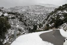 Nieve en la Serra