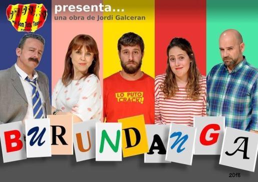 Una comedia desternillante de Jordi Galcerán, autor también de El método Grönholm y Fuga, presenta esta comedia romántica en la Mostra de Teatre de Andratx.