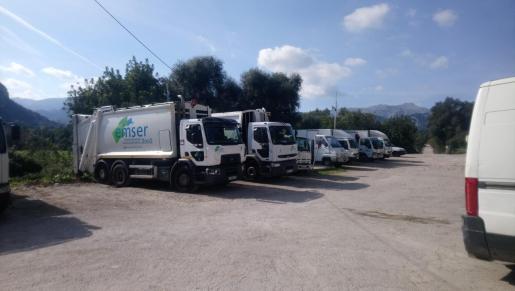 Los trabajadores de EMSER denuncian el «mal estado» de la flota de vehículos.