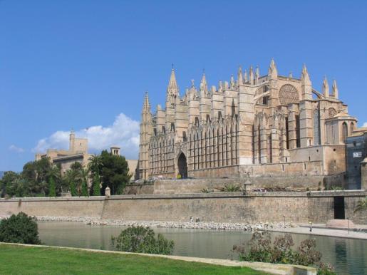 La Catedral de Mallorca es uno de los principales escenarios de la Semana Santa.