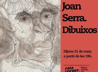 Rata Corner inaugura la exposición de Joan Serra 'Dibuixos'