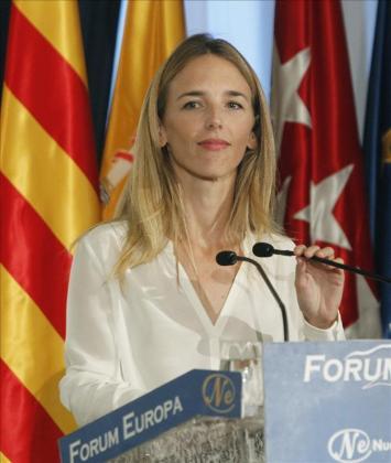 Cayetana Álvarez de Toledo, candidata del PP al Congreso.