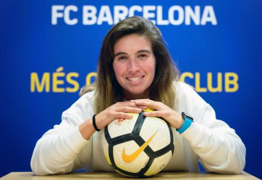 Mariona Caldentey, durante la entrevista concedida a EFE.
