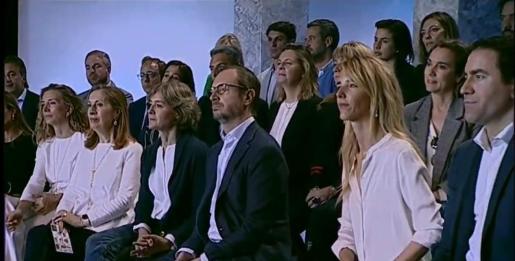 Maria Salom ha sido presentada este sábado como candidata del PP por Baleares.