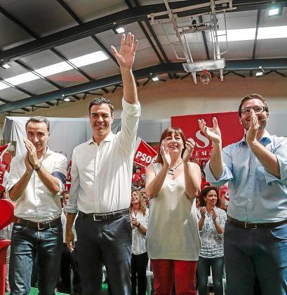 Según la encuesta del Instituto Balear de Estudios Sociales (IBES) elaborada para Ultima Hora el PSOE obtendrían un 23,1 por ciento de los votos del archipiélago.