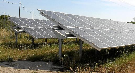 Parque fotovoltaico de Son Bauló.