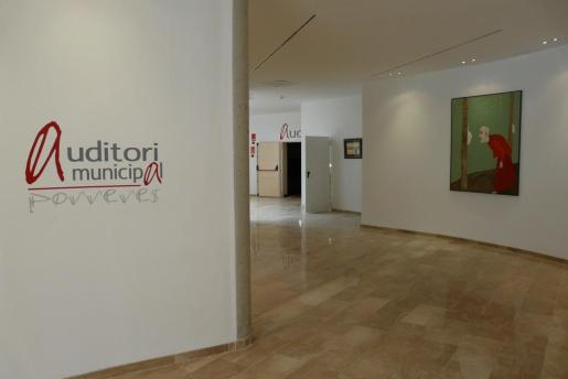 Imagen de archivo del interior del auditorio de Porreres.