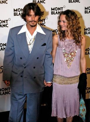 Jonhy Depp y Vanessa Paradis, en una imagen de archivo.