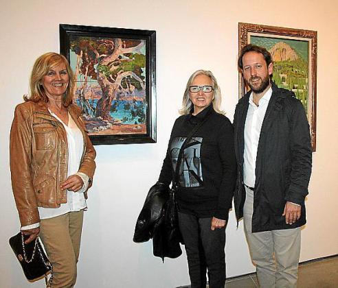 Miquela Vidal, Teresa Matas y Miquel Rullán.
