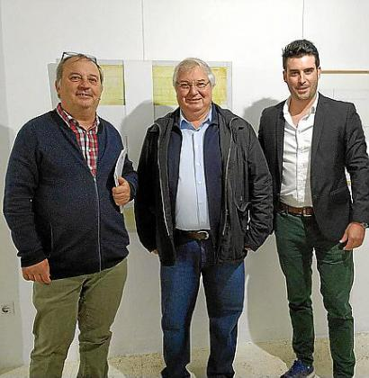 Antoni Torres, Joan Monjo y Biel Perelló.
